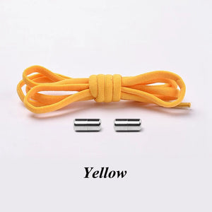 Elastic Shoe Laces For kids yellow