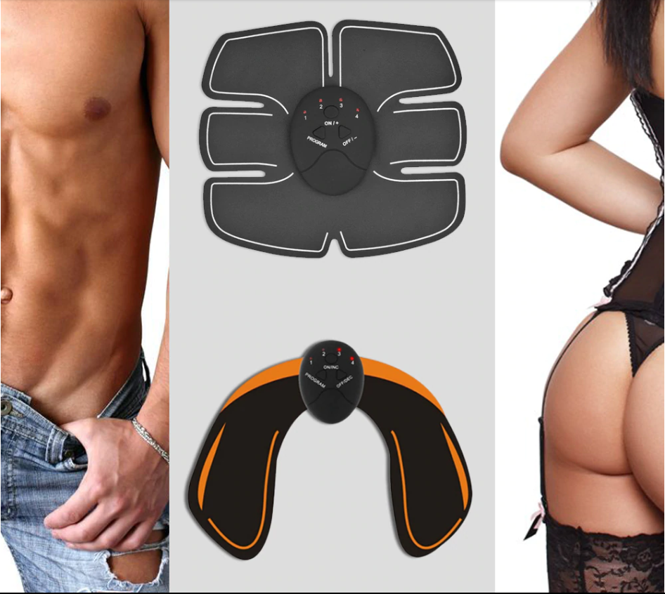 ABS Trainer + Buttock Muscle Stimulator + Arm Muscle Trainer