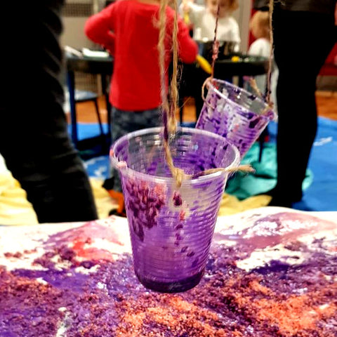 Messy Play Cups