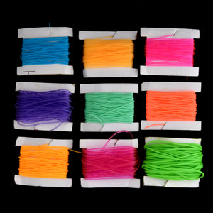 Assorted Plastic Lacing Cord