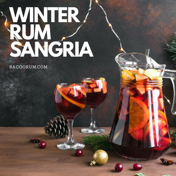Winter Rum Sangria