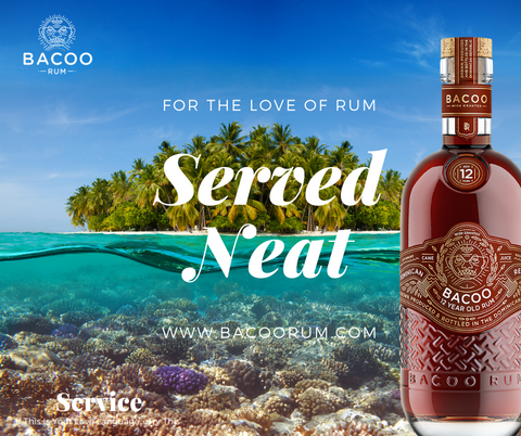 Bacoo five Love Languages 8 year rum acts of service