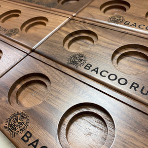 Bacoo Rum Tasting Flight Tray