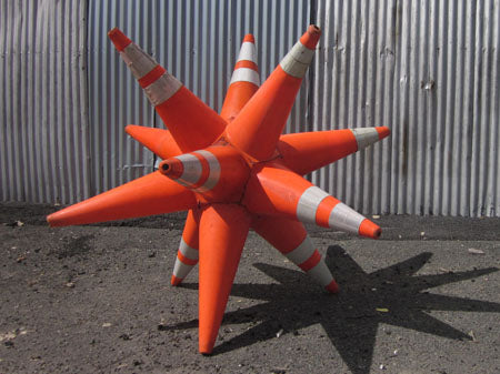 Top 20 Traffic Cone and Drum Art Ideas