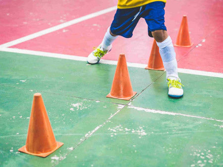 Gym Obstacle Course Traffic Cones