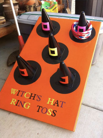 Witch Hat Cone Toss