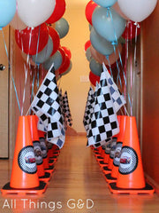 Road Race Theme Party