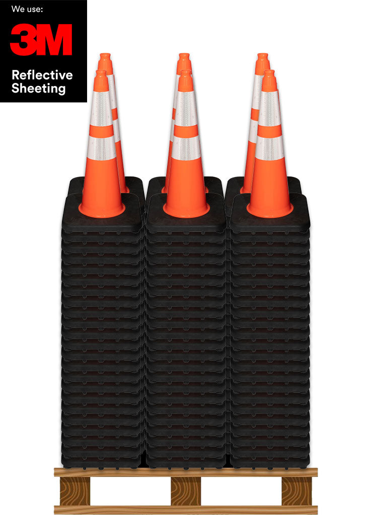 "300 7LB 28"" Trimline All Orange Cones™ Pallet"