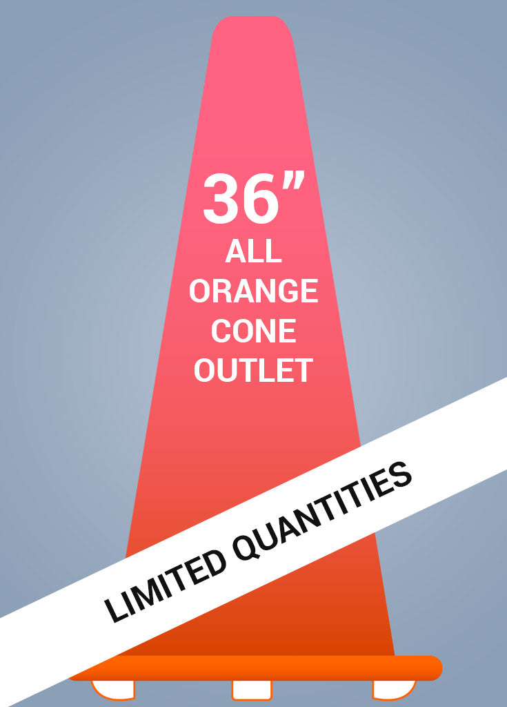 "36"" All Orange Cone™ - Coloration Outlet - FINAL SALE!"
