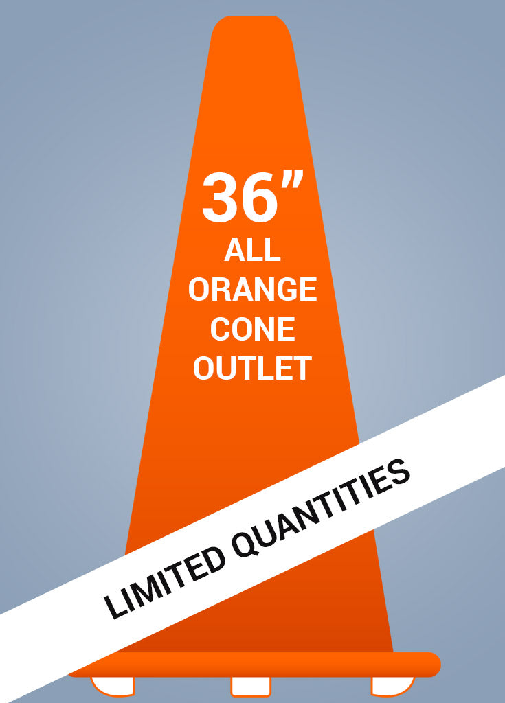 "36"" All Orange Cone™ - General Outlet - FINAL SALE!"