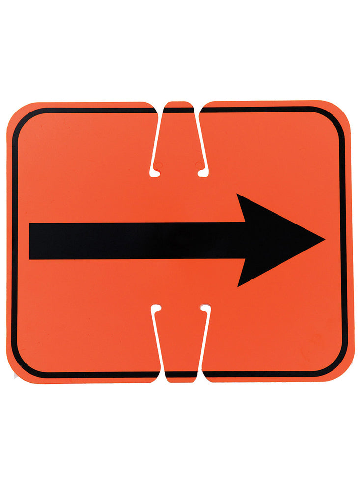 Reversible Arrow Sign
