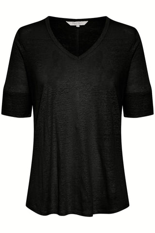Curly T-Shirt Black