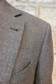 Micro-Check Sport Coat Grey