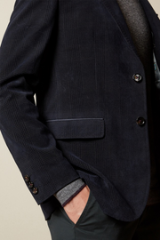 The York Velvet Sport Coat Navy