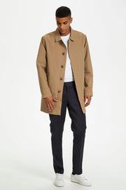 Miles Mac Jacket Black or Warm Khaki