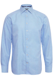 Marc Long-Sleeved Casual Shirt Chambray Blue