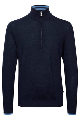 Mason Quarter-Zip Sweater Dark Navy