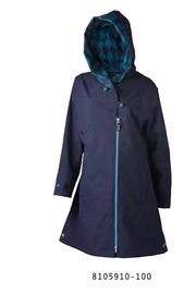 Rain Coat with Removable Hood