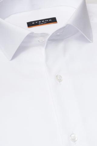 "Long-Sleeved ""Cover"" Dress Shirt Slim Fit"