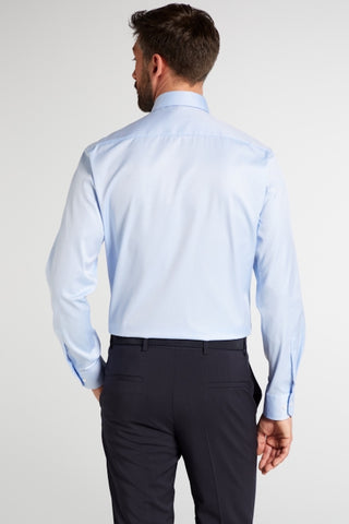 "Long-Sleeved ""Cover"" Dress Shirt Modern Fit Two Colours"
