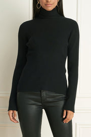 Wool-Blend Classic Turtleneck Sweater Three Colours
