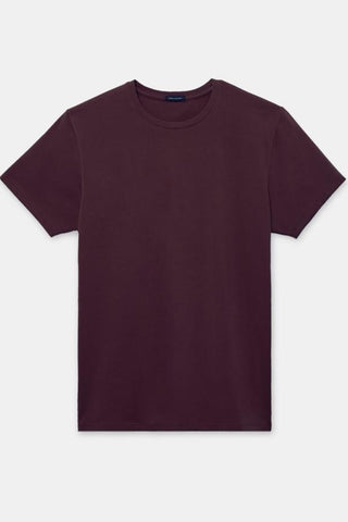 Pima Cotton Crew Neck Short Sleeve T-Shirt Six Colours