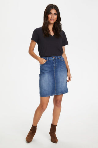 Huldas Denim Skirt