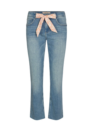 Simone Swift Cropped Jeans Light Blue