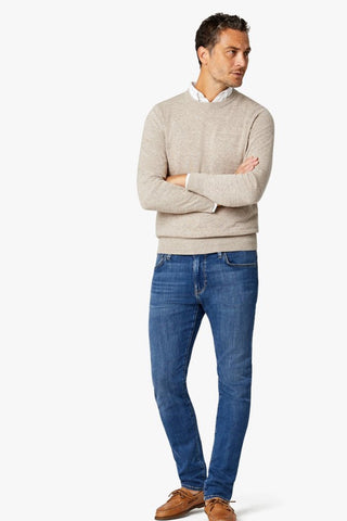 Cool Slim-Leg Jeans Mid-Shaded Ultra
