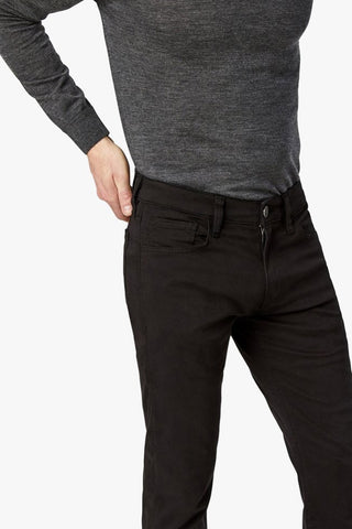 Courage Straight-Leg Jeans Black Twill