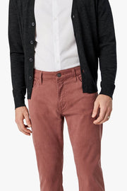 Courage Straight-Leg Jeans Berry Twill