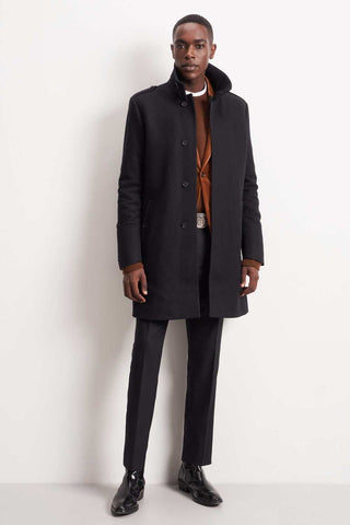 Cunning Wool Coat Black or Grey