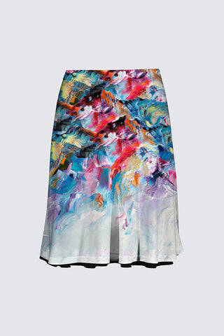 The Alex Skirt Montagne d'émotions Print