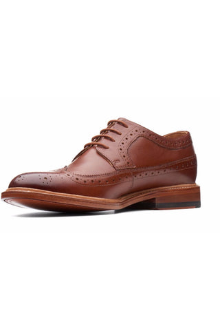 The Soft-Wing Brogue Tan