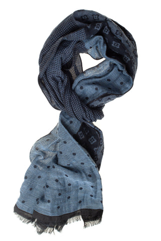 Cotton-Blend Scarf Two Colours