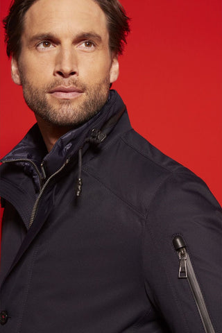 Waterproof Jacket With Storm Vest Navy