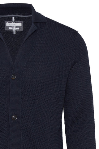 Button-Front Sweater Navy or Black