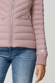 Chalee Light-Down Jacket Rose