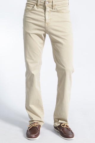 Courage Straight-Leg Jeans Cream Twill