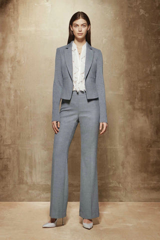 Straight-Legged Dress Pant Banker Grey