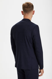 George Jersey-Knit Blazer Ink Blue