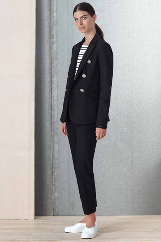 Straight-Legged Dress Pant Black