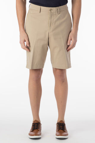 Stretch-Cotton Walking Shorts Three Colours