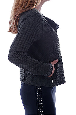 Quilted Soft Jacket Black
