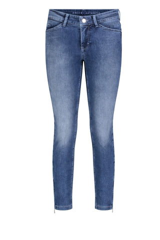 Dream Chic Cropped Jeans Eight Washes