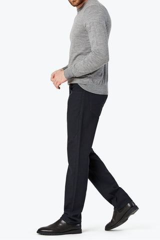Courage Straight-Leg Pant Navy Oxford