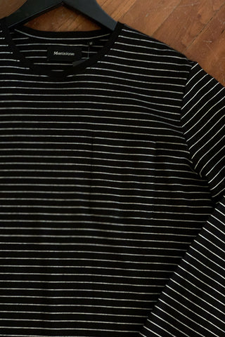 Long-Sleeved T-Shirt with Stripes