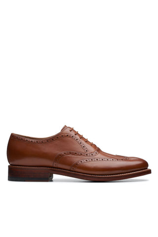 The Rhodes Brogue Tan