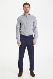 Matrostol Long-Sleeve Shirt in Urban Dot Pattern