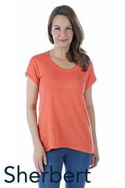 Short-Sleeved Linen T-Shirt Seven Colours